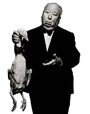 Alfred Hitchcock, Los Angeles, 1973 © Albert Watson
