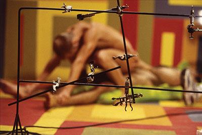 Jeff BurtonUntitled #176 (Rods and Clamps), 2003Cibachrom, 67,3 x 101,6 cmCollection Julia Stoschek, Düsseldorf. Courtesy of Casey Kaplan, New York City© Jeff Burton