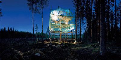 Ilkka HalsoEvolution of Tree, version 2.1 Inside Tree works / Puutyöt, 2006C-print - Diasec auf Aludibond140 x 300 cm 55 x 118 inchescourtesy maerzgalerie