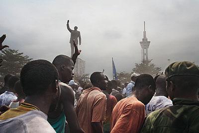 Guy Tillim, Wahl in KinshasaC-Print, 2006© Guy Tillim