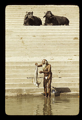 Werner Kohn: Indien, Varanesi, 1976
