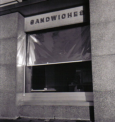 © Jerry Berndt aus der Serie: Nite Works, 1979, Silbergelatineabzug, 26 x 25,5 cm