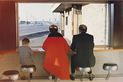Dan Graham, View Interior, New Highway Restaurant, Jersey City, N.J., 1967(Abzug 1996), Pinakothek der Moderne, Siemens Arts Program, Dauerleihgabe der Siemens Aktiengesellschaft, © beim Künstler
