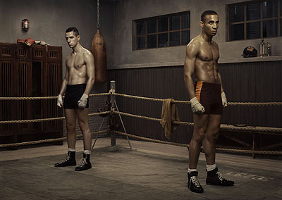 Erwin Olaf, Hope - The Boxing School, 2005, lambda print. Courtesy Flatland Gallery.