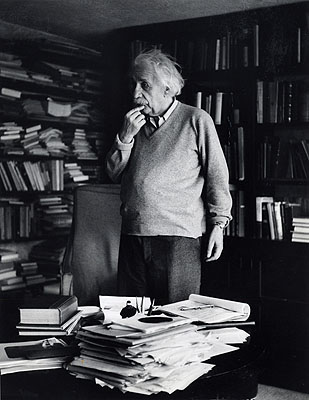 Ernst Haas 'Albert Einstein, Princeton, New Jersey' 1951 © Ernst Haas, courtesy Getty Images.