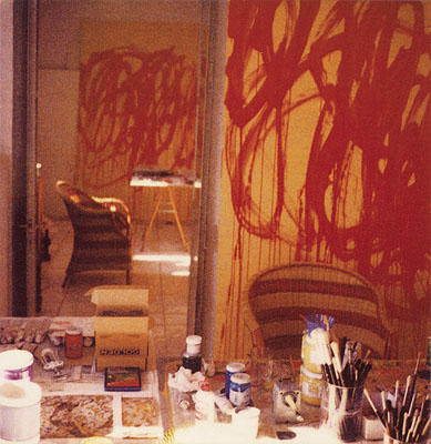 Cy Twombly, Bacchus Paintings Studio Gaeta, 2005 © Cy Twombly / Schirmer/Mosel 2008