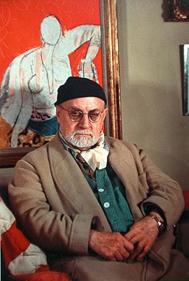 Gisèle Freund, Henri Matisse, Paris, 1948
