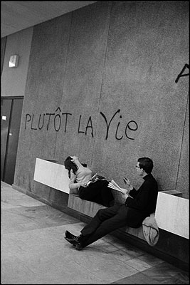 Mai 68, Université de Nanterre, avril 1968