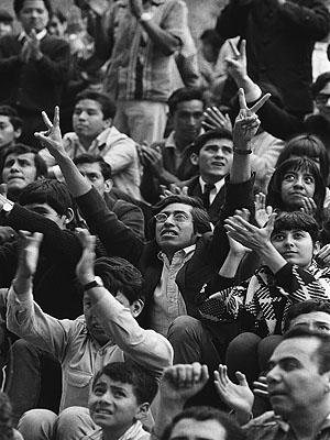 Emeutes à Mexico, septembre 1968