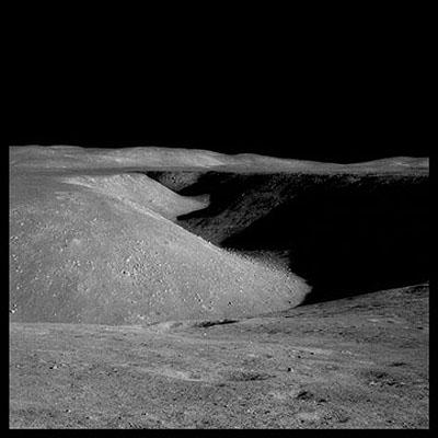 Hadley Rille, Apollo 15, 1971