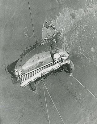 Enrique Metinides, 1966Rescate de un automóvil accidentadoVintage silver gelatin print10.2 x 8.1 in (26 x 20.5 cm)