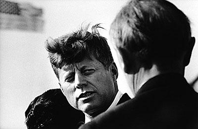 John F. Kennedy – Abschied von Konrad Adenauer, Berlin Tegel - 1963