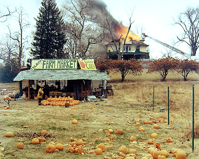 Joel Sternfeld Mc Lean, Virginia, December 4, 1978 Color Print 40,7 x 50,6 cmSammlung F.C. Gundlach, Hamburg