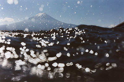 Asako Narahashi, Kawaguchiko, from the series 'half awake and half asleep in the water', 2003 (Coll. Huis Marseille, image courtesy Galerie Priska Pasquer)