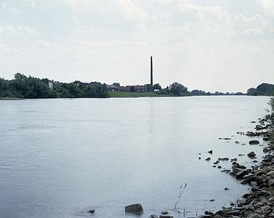 Marnix Goossens, De Rijn bij Wageningen, 2008