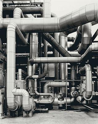 Bernd und Hilla BecherChemische Fabrik Wesseling bei Köln. 1998 Gelatin silver print, 60,4 x 48,2 cmEstimate: € 8.000-10.000,-Auction 930 - Contemporary Art