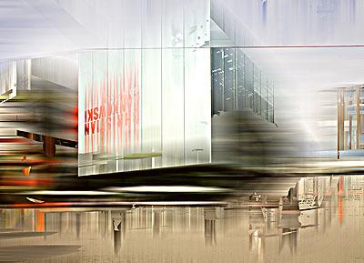 Sabine Wild: Kunstmuseum Stuttgart I, Lambdaprint, 120x180 cm