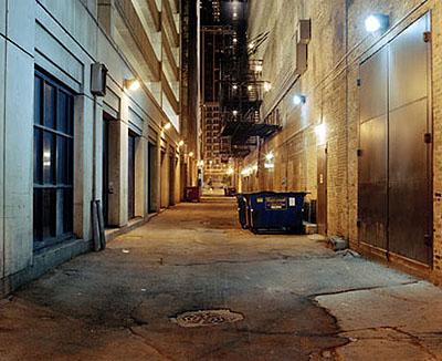 Simon Menner 'ch83 / nameless streets'©2005, C-Print, 110x135cm