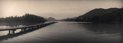 SILKE LAUFFSÖffentliche Badestelle Hof, Fuschlsee, Österreich, Sommer 2006Edition 1/5Fine Art Printverso signiert, datiert und nummeriert160 x 60 cm (mit Rahmen: 180 x 80 cm)