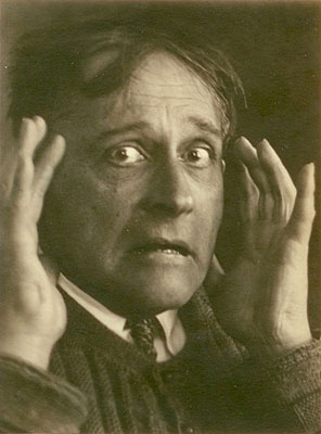 Witkacy, A Madman's Dismay, Zakopane, 1931, vintage print, 9,2x12,2 cm, Courtesy: ZAK I BRANICKA