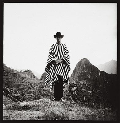 Lothar WollehSelbstporträt, Peru 1971, Vintage, 27,5 x 27, 8 cm