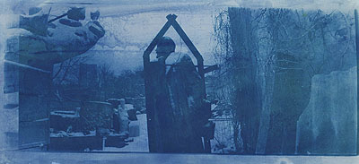 Boris MikhailovUntitled from the series At Dusk1993tinted photographyCourtesy the Artist / DEWEER gallery