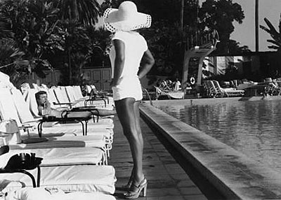 © Anthony Friedkin, Woman by the Pool, Beverly Hills Hotel, CA, 1975