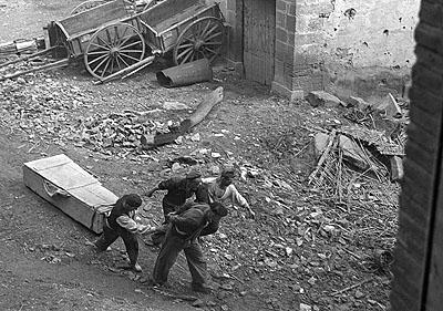 © EFE, Fotograf Hans Gutmann, Bürgerkriegszene, 1936