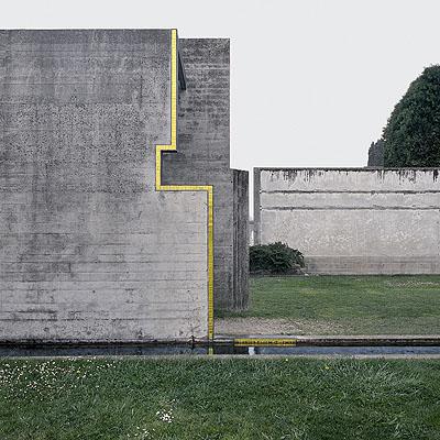 Carlo ScarpaCemetery San Vito d'Altivolenear Asolo | Brion family tomb,Italy 1969-1975 | Photo 1985© Klaus Kinold