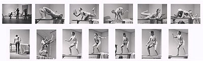 Carolee Schneemann, Interior Scroll (suite of 13 silver gelatin prints), 1975