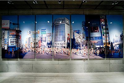 Installation shot Diesel Denim Gallery Aoyama- photo: Ken Kato