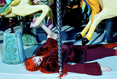 Miles Aldridge, Le Manage Enchante #4, Doll Face, courtesy of Hamiltons Gallery