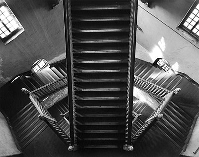 © Christopher Taylor. Standard Chartered bank staircase, Calcutta, 2005.