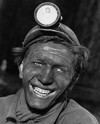 Kumpel, 1954Kumpel aus der Zeche