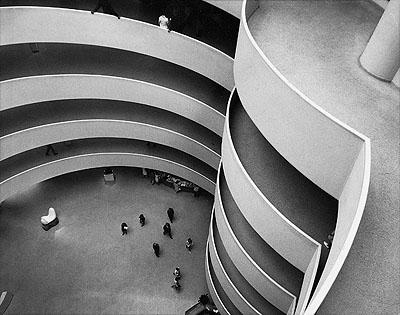 Guggenheim Museum, New York 1969© Hannes Kilian