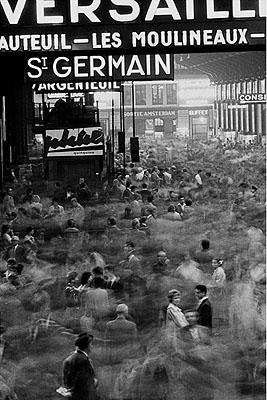 1959, Paris, gare saint Lazare 5/30Silbergelatineprint, 30 x 40 cm© Frank Horvat