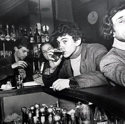 Herbert Tobias: Prendez un verre... tu sais... St. Germain des Prês, Paris 1953 © Berlinische Galerie / VG Bild-Kunst, Bonn 2008