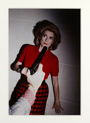 HELMUT NEWTON, Catherine Deneuve, Paris, 1983, courtesy of Hamiltons Gallery