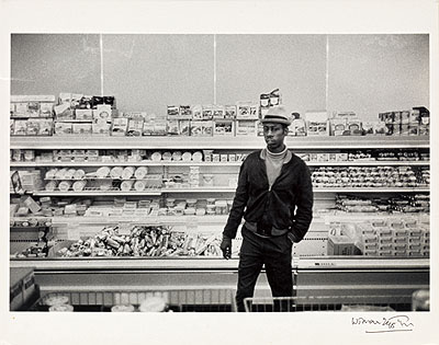 William Eggleston Untitled (Man in Grocery). 1968 ©Eggleston Artistic Trust