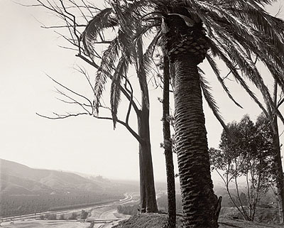 Robert Adams Looking towards Los Angeles across San Timoteo Canyon, San Bernardino County, CA. 1979