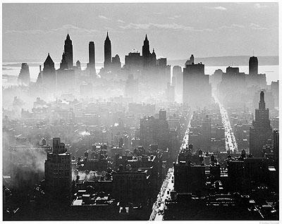 Andreas FeiningerView from Midtown Manhattan, New York. ©AndreasFeiningerArchive.com