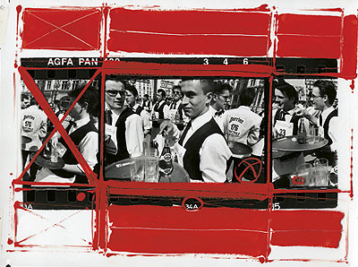 William Klein (geb. 1928 New York, lebt in Paris);