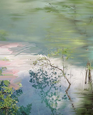 Sandra KantanenUntitled (Lake 1), 2009Pigment print on paper128 x 108 cm (with frame)Edition of 5