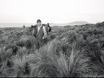 Ricky MaynardComing Home, 2005from Portrait of a Distant Landgelatin silver print34 x 52cm, edition of 10
