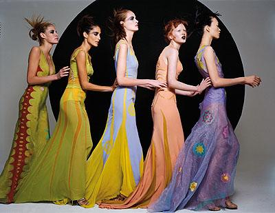 Haute Couture, Vogue Germany 1997 © MICHEL COMTE / I-Management