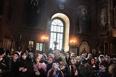 Mamadaviti Kloster, Tbilisi, April 2009 © Paolo Pellegrin / Magnum Photos