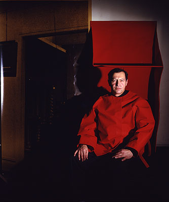Clegg & Guttmann. 'Red Cardinal', (Collaboration with Franz Erhard Walther), 1993