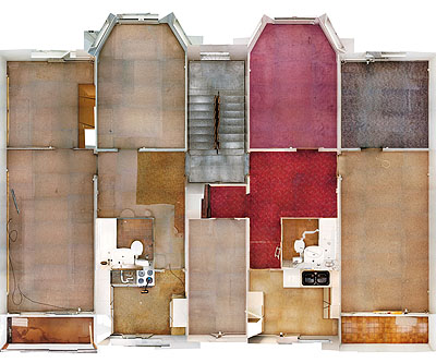 Andreas GefellerOhne Titel (Plattenbau 1) / Untitled (Panel Building 1), 2004C-type print / Diasec110 x 131 cm, Courtesy Thomas Rehbein Galerie, Köln© Andreas Gefeller