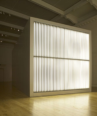 Alfredo Jaar (Chile/USA), The Sound of Silence, 2006. Installation view, South London Gallery, London, 2008. First commissioned and exhibited by FotoFest, Houston, Texas. Courtesy of the artist