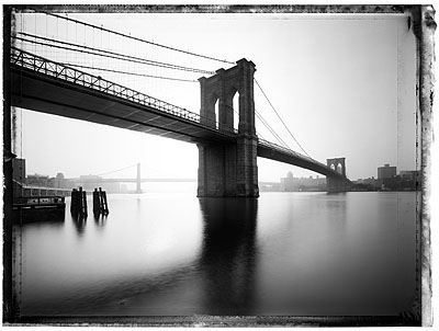 Brooklyn Bridge II, 2008Pigment Fine Art Print 101,6 x 142,4 cm© Christopher Thomas